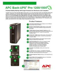 apc power saving back ups pro 1200 230v apc br1200gi u2013 itts