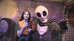 jack skellington and sally meet and greet at mickey u0027s not so scary