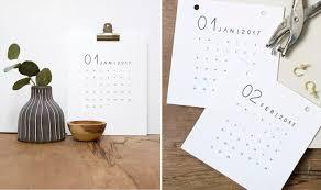 Diy Desk Calendar diy ways to get organised
