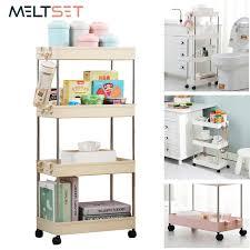 kitchen storage cupboard on wheels 15 26us 40 2 3 4 layer gap holder kitchen storage