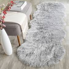 Safavieh Faux Sheepskin Rug Shop For Safavieh Handmade Faux Sheepskin Light Grey Japanese