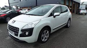 peugeot 3008 2012 2012 12 peugeot 3008 1 6 hdi 112 active ii 5dr estate in pearl