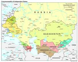 Russia Physical Map Physical Map by Countries Profiled Information On Geography Government Economy