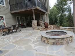Fire Columns For Patio Lanscapers Greenville Sc Landscape Stone Paver Concrete