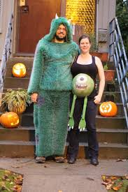 husband can be sully and your belly can be mike pregnantcostume