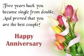 second year wedding anniversary second anniversary wishes quotes messages images for