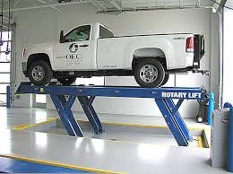 rotary lift setting the standard for hydraulic vehicle lifts