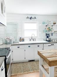 corner cabinet kitchen rug styling your farmhouse kitchen to be simple timeless with