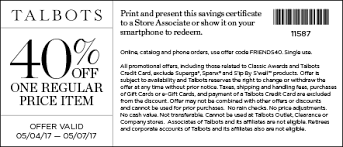Old Country Buffet Printable Coupons by Talbots Coupons Printable Coupons In Store U0026 Coupon Codes