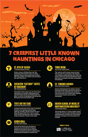 7 creepiest little known hauntings in chicago infographic