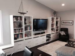 built in wall unit ideas matched cushion head living room sets