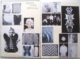 fashion sketchbook 3d origami fashion design development