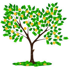 clipart money the tree clipart clipground