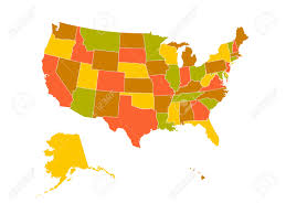United Stated Map by United States Map Royalty Free Cliparts Vectors And Stock