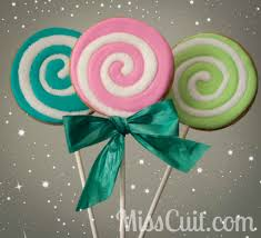 tutorial christmas cookie lollipops miss cuit