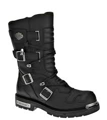 men s motorcycle boots harley davidson men s axel motorcycle riding boot black leather d96035