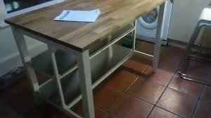 Kitchen Island Ideas Ikea by Ikea Stenstorp Kitchen Island Hack Youtube
