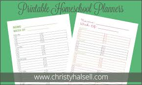 printable homeschool daily planner free 5 day student planner 2014 edition free homeschool deals
