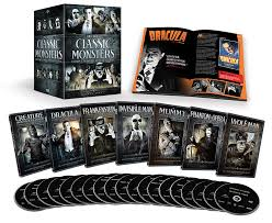 famous halloween monsters amazon com classic monsters complete 30 film collection bela
