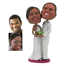 show and tell dream cake toppers personalised figurines boho