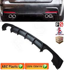bmw 3 series f30 f31 m sport performance quad rear diffuser
