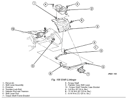 99 jeep wrangler transfer tj transfer shifter linkage