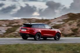 mini range rover black 2018 range rover velar first drive review automobile magazine