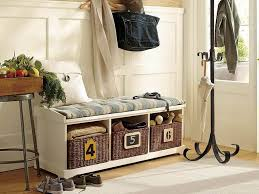 Entryway Storage Shelf by Metal Entryway Storage Bench With Coat Rack By Home Access Best