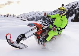 motocross snow bike snow bikes manufacturers try to meet rising consumer demand