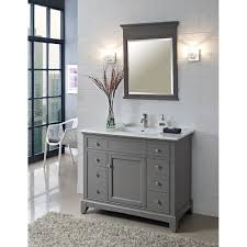 Bathroom Vanity Grey by Fairmont Designs 42 Inch Smithfield Vanity Medium Gray Vanity