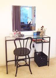 Ikea Laptop Desks Using Ikea Vittsjo Laptop Table As A Vanity Vanity Pinterest