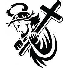 Jesus Cross Tattoos On - jesus carrying the cross free clip free