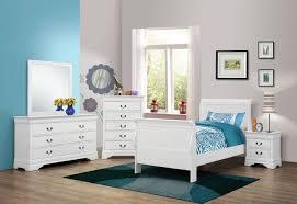 white twin bedroom set coaster 204691t s4 louis philippe white 4 pcs twin bedroom set