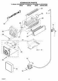 kitchenaid kscs25inss00 parts list and diagram ereplacementparts com