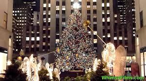 christmas in new york city o christmas tree rockefeller center