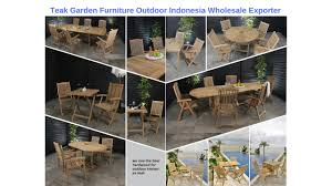 Teak Garden Table Teak Garden Outdoor Furniture Manufacturers Indonesia Wholesale