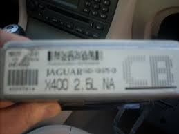 jaguar x type i purchased a used ecu module on ebay and would