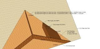 Irregular Hip Roof Framing Roof Framing Geometry Layover Cuts 2