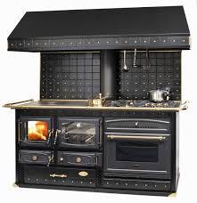 cuisine poele a bois emmanuelle réf chauffage cuisinières à bois espace poêle