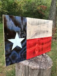 Texas Flag Chile Flag Texas Flag Texas Decor Texas State Flag Wood Texas Flag