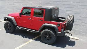 4 door jeep wrangler top recruit jku 4 door half hardtop kit gr8tops