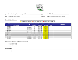 8 weekly status report template doc budget template letter