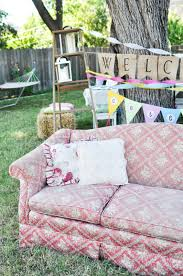 Country Backyards Domestic Fashionista Country Backyard Birthday Party