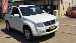 suzuki grand vitara manual 2007 youtube