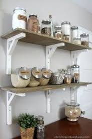 diy kitchen decor ideas open shelving pantry open shelving pantry and shelving