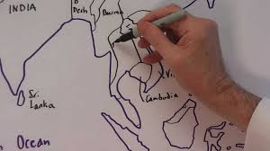 Asia Map With Country Names by The Countries Of Asia Names And Locations Youtube