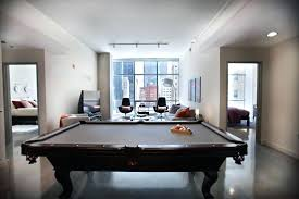 Pool Table In Living Room Marvelous Modern Pool Table Living Room Suited For Your Office