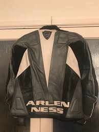 good motorcycle jacket arlen ness leather motorcycle jacket xl very good condition in