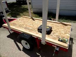 Building A Box Blind How To Build A Harbor Freight Trailer 1200lb 4x8 Youtube