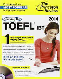 buy cracking the toefl ibt with audio cd 2014 edition college